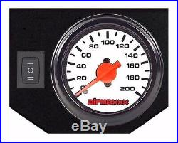 07-18 Chevy 1500 Tow Assist Over Load Air Bag Suspension Kit White Gauge & Tank