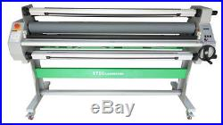1630mm 64 Automatic Hot Cold Laminator Roll Laminating 80 Heat Assist+Take Up