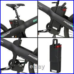 26 Electric City E Bike Bicycle 1000W 48V Black Lithium LCD Pedal Assist 13AH