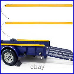 2-Sided Trailer Tailgate Liftgate Ramp Lift Assist System