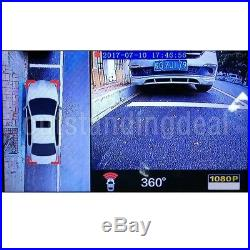 360° Bird View Panorama System Parking Assistance With Car DVR Recorder 4 Cams
