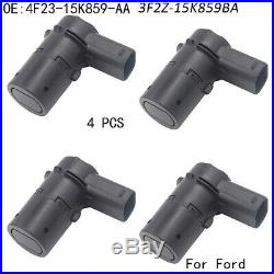 4 x New Reverse Backup Parking Assist Sensors For 2001-2011 Ford F250 Truck PDC