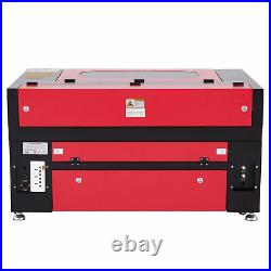 60W 28x20in CO2 Laser Engraving Cutting Etching Machine w Air Assist Ruida Panel