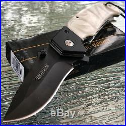 8 TAC FORCE ASSISTED OPEN TACTICAL PEARL HANDLE BLADE Pocket Knife Switch New