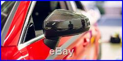AUDI A3 S3 RS3 8V 2013-2018 Carbon Fibe Mirror Full Replacement WithOT Lane Assist