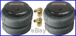 Air Tow Assist Load Level Kit 2003-13 Dodge Ram 8 Lug Already Lifted 6 No Drill