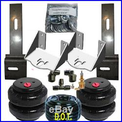 Airbagit Tow Assist Air Over Leaf Air Bag Suspension Rear Lowering Kit Universal