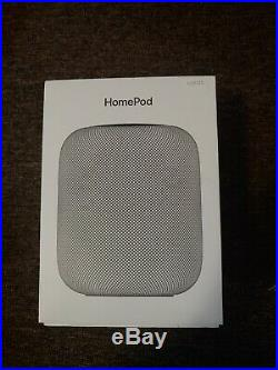Apple HomePod Voice Enabled Smart Assistant Space Gray