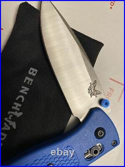 BENCHMADE 535 Bugout AXIS Lock Knife Blue (3.24 Satin)