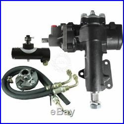 BORGESON Power Assist to Power Steering Box Conversion Kit for 67-82 Corvette