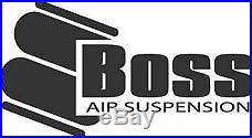 BOSS #2500 Air Bag & end plates for DIY airbag suspension load assist dump kit