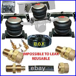 B Tow Assist Rear axl Air Level 1994 02 Dodge Ram 3500 Over Load level