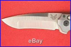 Benchmade 496 Vector Axis Assist Flipper, G10 Handle, Cpm-c20v Knife, New In Box