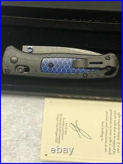 Benchmade Gold Class 535-191 Bugout #1155 Of Limited Edition