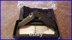 Benchmade knife assisted blade