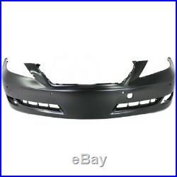 Bumper Cover For 2007-09 Lexus LS460 With Park Assist Sensor Holes Front Primed