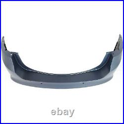 Bumper Cover For 2013 2014 2015 2016 2017 Ford Fusion Rear Primed withSensor Holes