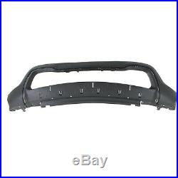 Bumper Cover Kit For 2014-2015 Grand Cherokee Front 4pc With Bumper Grille