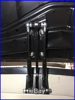 C-10 Hood Hinges 1960-1966 Cowl Mounted With Gas Assist Struts Weld on Hood Mount