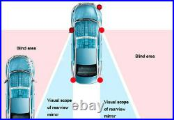 Car Blind Spot Monitoring Detection System Ultrasonic Sensor with Reverse Assist