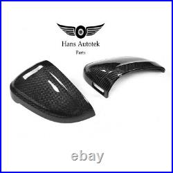 Carbon Fiber Side Mirror Caps WithLane ASSIST FOR AUDI A4 S4 B9 A5 F5 S5 RS4 RS5