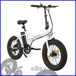 ECOTRIC 2036V12Ah FOLDING Electric Bicycle eBike Removable Battery Pedal Assist