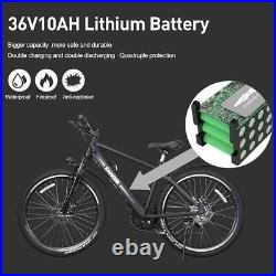 Electric Bicycle 26 City Ebike Assisted Bicycle with 350W36V Lithium Battery