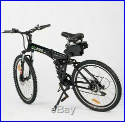 Electric Folding Mountain Bike 36V 26 With Assist Modes And Throttle Brand New