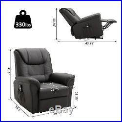Electric Power Lift Recliner Chair Stand Assist withRemote Control