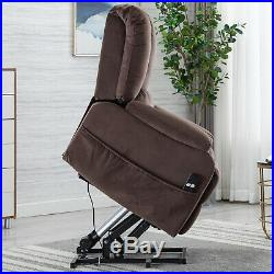 Electric Power Lift Recliner Chair for Elderly Stand Assist withRC Lounge Sofa New