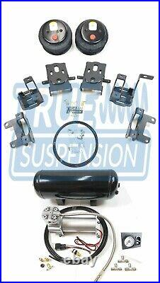 Fits 2004-2014 Ford F150 Pickup Truck Towing Assist Helper Air Suspension IN-CAB