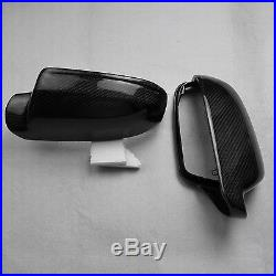 For Audi RS4 S4 B8.5 or B8 facelift car mirror cover carbon fiber W side assist