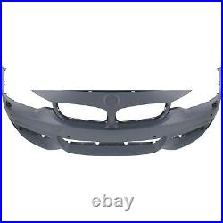 Frnt Bumper Cover For 2015-2016 BMW 428i xDrive Gran Coupe with HLWithPDC/Cam holes
