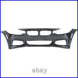 Front Bumper Cover For 15-16 BMW 428i xDrive Gran Coupe with fog lamp holes Primed