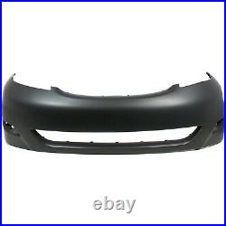 Front Bumper Cover For 2006-2010 Toyota Sienna with fog lamp holes Primed CAPA