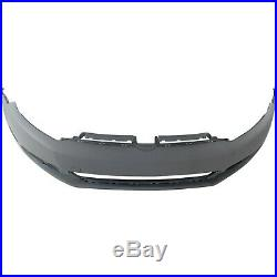 Front Bumper Cover For 2010-2014 Volks Jetta Wagon with fog lamp holes Golf Primed
