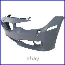 Front Bumper Cover For 2012-2015 BMW 328i 320i with HLWithPDC/IPAS/Cam holes Primed