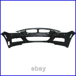 Front Bumper Cover For 2013-2016 BMW 328i with M Sport/PDC Sensor Holes/Cam Primed