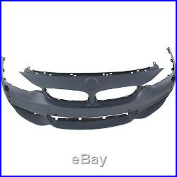 Front Bumper Cover For 2014-2016 BMW 428i with M Sport/HLW Holes/PDC Sensor/IPAS
