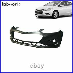 Front Bumper Cover for 2016 2017 2018 Chevy Cruze witho Park Assist Primered