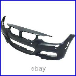 Front Bumper Cover with M Pkg. /HLWith PDC/IPAS/Camera Holes For 2013-2016 BMW 328i