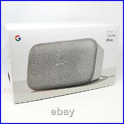 Google Home Max Smart Wi Fi Speaker with Voice Assistant Chalk White