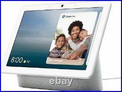 Google Nest Hub Max with 10 Voice-Activated Touchscreen Smart Assistant (Chalk)