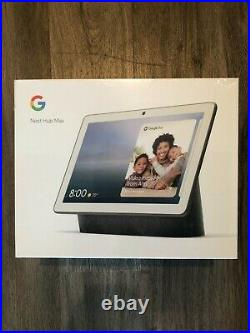 Google Nest Hub Max with Built-In Google Assistant, Charcoal (GA00516-US)