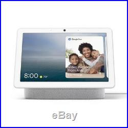 Google Nest Hub Max with Built-in Google Assistant Chalk White(GA00426-US) NEW