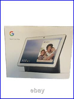Google Nest Hub Max with Built-in Google Assistant Charcoal (GA00639-US) NEW