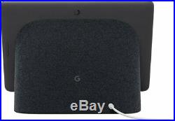 Google Nest Hub Max with Built-in Google Assistant-Charcoal-GA00639-US new open