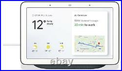 Google Nest Hub Smart Home Voice Activated Google Assistant with Screen Charcoal