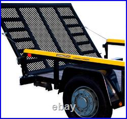 Gorilla Lift 2 Sided Tailgate Utility Trailer Gate & Ramp Lift Assist System
