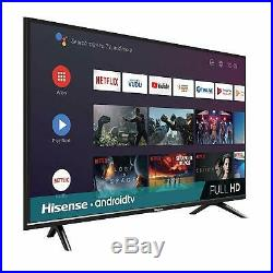 Hisense 32-inch 720p HD Android Smart LED TV 2019 with Google Assistant, 32H5590F